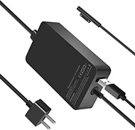 Surface Pro Charger 44W Microsoft Surface Charger Compatible with Surface Pro 3 4 5 6 7 X, Laptop 1/2/3 Surface Go 1/2 and Surface Book