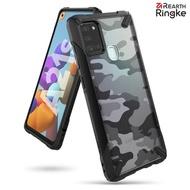【Ringke】Rearth 三星 Samsung Galaxy A21s [Fusion X Design] 透明背蓋防撞手機殼(A21s 透明防撞手機殼)