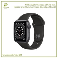 APPLE Watch Series 6 GPS (40mm Space Gray Aluminum Case Black Sport Band)