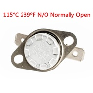 1pcs,KSD301 Temperature N/O Normally Open Controlled Control Switch 115°C 239oF