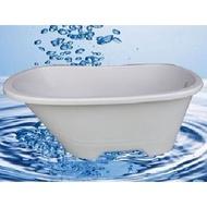 壓克力古典浴缸 泡澡桶 138cm 優惠價$12000元免運贈好禮二選一