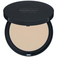 bareMinerals, BareSkin 系列礦物水亮遮瑕粉餅,淺/中性色,0.3 盎司(9 克)