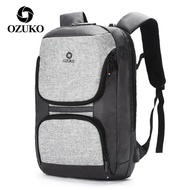 Ozuko Backpack Casual Men Backpack Multifunctional Outdoor Backpack