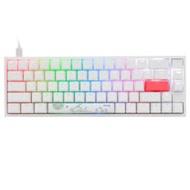 Ducky 創傑 One 2 SF 65% 白蓋茶軸 RGB機械式鍵盤《中文版》