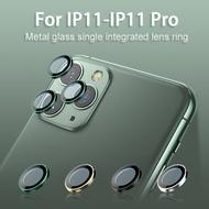 แก้วเลนส์กล้องส่วนทดแทนสำหรับApple IPhone 11 Pro IPhone 11 Pro Max IPhone 11 Multicolorโลหะแก้วเลนส์ฟิล์ม