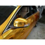 Car body wrapper sticker GOLD CHROME / MIRROR ( 1 roll 18m x 5 feet size )