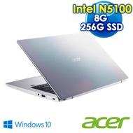Acer宏碁SF114-34-C39X 14吋輕薄筆電 彩虹銀   (Intel N5100/8G/PCIE 256G SSD)
