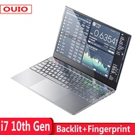 2021 New 15.6 Inch i7 10th Gen Laptop 8GB 16GB DDR4 RAM 128G 256GB 512GB 1TB SSD With Backlit keyboa