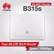 Huawei B315 LTE CPE Sim Card Router Mobile WIFI Router MIFI wireless gateway (White)