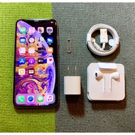 iPhone XS Max 256G 9成新 銀 白 6.5吋 iXs XSmax FaceID故障 二手機 二手機回收
