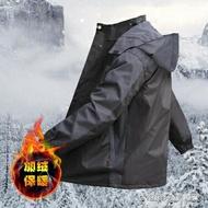 衝鋒衣 衝鋒衣男女冬季加厚加絨保暖戶外防風防水外套大碼衝鋒衣 1995生活雜貨