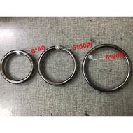《彪彪五金》台灣製 6*40~60mm 白鐵圓圈 304不銹鋼  白鐵環 白鐵圈 白鐵環