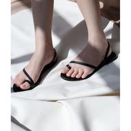 Cloud Bliss Nebula Flat Sandals - Black