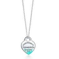 Tiffany&Co.蒂芬妮專櫃正品-蒂芬妮藍潑墨純銀項鍊