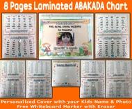 QVL Laminated ABAKADA Chart