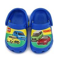 童鞋城堡-Tomica 中童 不對稱設計花園鞋TM1825-藍