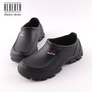 【Alberta】休閒鞋-MIT台灣製 防潑水 防滑包鞋 工作鞋 廚師鞋 套腳懶人鞋