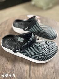 """[SALE 50%] รองเท้าแตะแบบสวมCROCS LiteRIde """"ลายกราฟฟิก ดำ"""" size: M4-M11 รองเท้าแตะแบบสวม รองเท้าแฟชั่น แท้100% พร้อมส่ง เบา นุ่ม ใส่สบาย"""