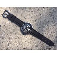 「現貨24h內出貨 」20/22mm橡膠錶帶 Seiko Diver/沛納海替用錶帶