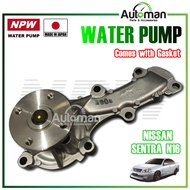 NPW Water Pump Nissan Sentra N16 Water Pump Complete Set With Gasket