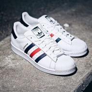 Adidas Original Superstar 藍紅 貝殼頭 三色旗 男女 S79208 現貨