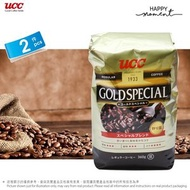 UCC - 2包 - 啡色裝 UCC 金牌咖啡豆 UCC Golden Special Coffee Bean (360g x2) 4901201032127