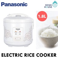 [Panasonic]SRCEZ18/Electric rice cooker-swirling white