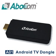 Abocom友旺 A01 mini PC 智慧電視棒 Android TV Dongle