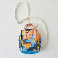 แท้ kanken อำพราง camouflage สลิง fjallraven กระเป๋าแท้ กันน้ำ mini กระเป๋า  kanken sling bag classic waterproof sling bag shoulder bag camouflage