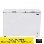 Fujidenzo FRC-105A 10.5 cu.ft, 2-Door, Chest Freezer And Chiller