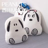 日本 西川 軟綿綿 snoopy 貝兒 olaf 抱枕 車用沙發靠墊靠背護腰靠枕 史努比 哥哥 妹妹 生日禮物 交換禮物