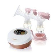 【贈手動配件組+大奶瓶*1(材質隨機)】日本 Combi 自然吸韻雙邊電動吸乳器