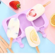 Stiff. Silicone Popsicle Mold / Popsicle Ice Mold / Ice Popsicle Mold - Type B