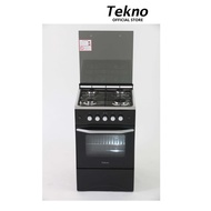 Tekno Range TGR4050GSB (4 Gas burner, Gas Oven, Gas Grill with Safety Device)