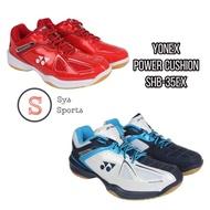 【Yonex 優乃克】紅色女款23公分羽球鞋  Power Cushion 35 SHB-35EX