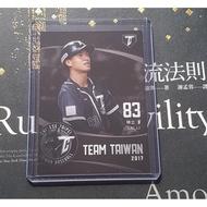 Lamigo Monkey 林立 2018 中華職棒聯盟 TEAM TAIWAN 球員卡
