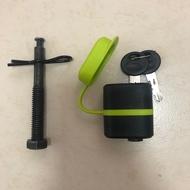 Buzzrack hex bolt with key Lock