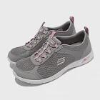 Skechers 休閒鞋 Arch Fit Refine 寬楦 女鞋 輕量 避震 緩衝 支撐 耐磨 足部舒壓 灰 粉 104165WGYPK 24cm GRAY/PINK