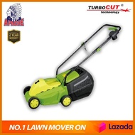CNY APACHE TurboCUT® ZF6117 1200W Electric Grass Lawn Mower Trimmer Mesin Rumput Brush Cutter + FREE BLADE SET (INSTALLED) + FREE SHIPPING