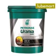Petronas Urania 3000 CI4 15W40 (18 liters) - Heavy Duty Diesel Engine Oil CI4 15W40 18L Mineral