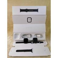 0810二手保內/機況內詳 Apple Watch S4(GPS+行動網路) 44mm 灰鋁/黑錶環 MTVU2TA/A