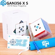 GANCUBE GAN 356 XS 3x3x3 Magnetic Speed Rubik's Cube Stickerless Gan356XS Puzzle Toys