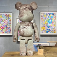 BE@RBRICK MOON 月球 APOLLO 11阿波羅 50周年紀念 NASA 1000%