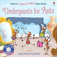 11.Usborne Underpants for Ants (硬頁有聲書) Russell Punterl; Fred Blunt