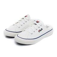 FILA【4C122U920】BUMPER MULE 穆勒鞋 帆布鞋 懶人鞋 米白色 女生尺寸