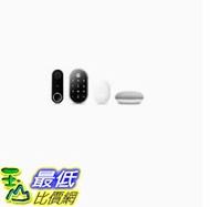 [8美國直購] Nest Hello, Nest x Yale Lock with Nest Connect and Google Home Mini Bundle