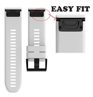 Honioer Replacement Silicagel Quick Install Band Strap For Garmin fenix 3 HR /fenix 3 BK