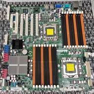 【含稅】ASUS 華碩 Z8PE-D18 5520晶片 雙路 1366 DDR3 E-ATX 庫存主機板 保三個月