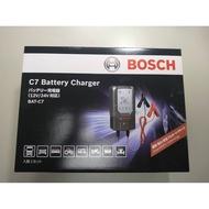 BOSCH C7 脈衝式充電器 AGM EFB電瓶 12V/24V 可自動識別電瓶大小