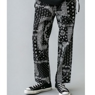 日本 🇯🇵 MONKEY TIME PAISLEY PRINT STRAIGHT EASY 長褲